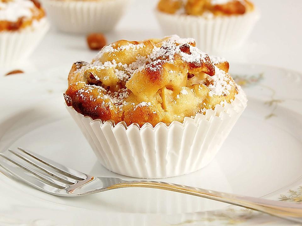 Zimtige Apfel – Muffins